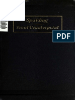 Tonal Counterpoint