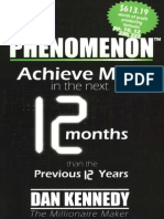 The Phenomenon Achieve More in the Next 12 Months Than the Previous 12 Years