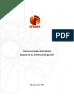 Informe Policia Nacional Bolivariana 2011
