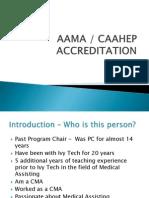 presentation to pcs