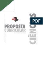 proposta Curricular de Ciencias para o Ensino Fundamental 2 do Estado de São Paulo