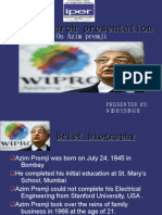 OB Azim  Premji Presentation