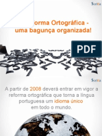 Alterações na Língua Portuguesa