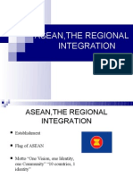 Asean,The Regional Integration