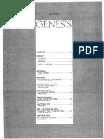 Genesis Anthology Pdf