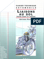 Cahier Technique Automobile - Liaisons Au Sol