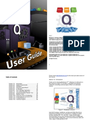 Blue Beam User Guide | Computer File | Portable Document Format