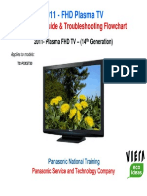 2011 Panasonic FHD Plasma TV Technical Guide | Power Supply