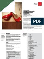 Informacion sobre diseños de calzado