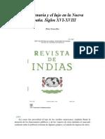De La Penuria y El Lujo en La Nueva España