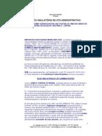 ação anulatória de ato administrativo.doc
