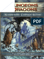 D&D 4th Edition - Neverwinter Campaign Setting