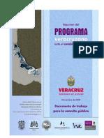 Programa Veracruzano Del Cambio Climático