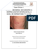 Caso Clínico 1 Herpes Zoster