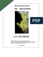 Memoria Explicativa Seccional La Chimba