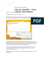 Labview Web Server