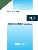 Cp 1 h Manual Program