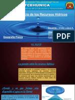 Importancia de los recursos Hídricos.pptx