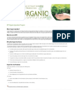 Organic Agriculture Program