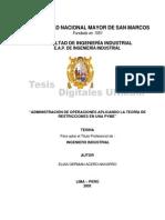 Administración de Operaciones PYME
