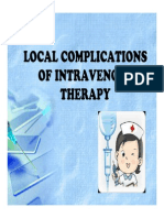 Complications of IV Therapy