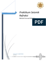 Seismik Refraksi_Forward Modeling