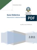 Guia Presupuesto y Analisis Financiero