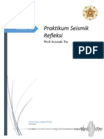 Seismik Refleksi_Well Seismic Tie