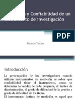 Validación y Confiabilidad de Un Instrumento de Investigación