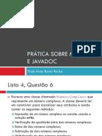 POO 12 Metodos Comentarios Pratica