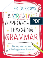 Creative Approach to Teaching Grammar, A - Burrows, Peter [SRG]