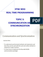 Communication in Real Time Programming