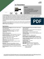 Transmisor de Presión PXTK