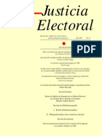 """""""Marco Constitucional y Legal de La Jurisprudencia en Materia Electoral"""