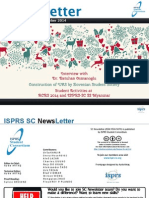 ISPRS Student Consortium Newsletter Vol8 No3