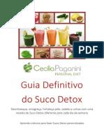 Guia Definitivo Do Suco Detox Cecilia Paganini