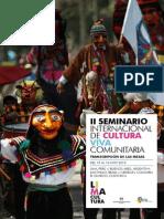 II Seminario Cultura Viva Comunitaria