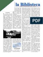 Bollettino n.11 Anno VI Novembre 2012