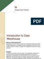 Data Warehouse Free Tutorial