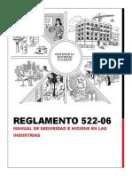Informe 3 - Reglamento 522-06