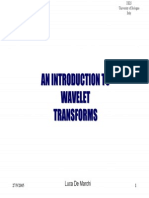 Introduction to  Wavelet Analysis