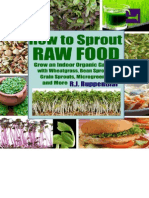 How to Sprout Raw Food - R.J.ruppenthall