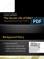 DEFCON 21 Koscher Butler the Secret Life of SIM Cards Updated