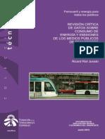 Consumo Energía y Emisiones Transporte