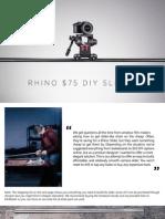 $75 DIY Slider PDF Guide