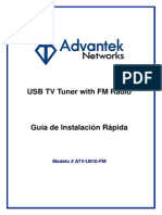 ATV-U810-FM Spanish User Manual