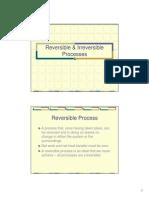 Reversible & Irreversible Processes