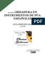 Guia Encordar Instrumento