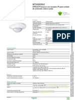 Detector de Presencia ARGUS MTN550591