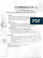 Directiva Finalización Del Año Escolar 2014